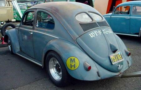 Volkswagen Beetle estilo Rat
