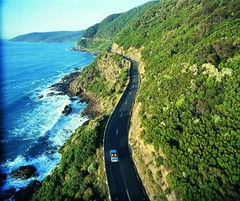 Pemandangan Great Ocean Road, Australia