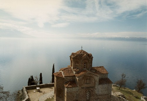 Lake Ohrid: Church of St. John Kaneo