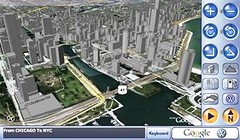Google 3D In-car Navigation