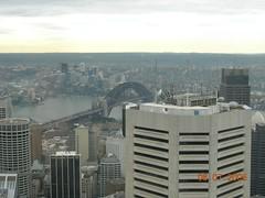 Pemandangan Sydney dari atas Sydney Tower, Sydney, Australia