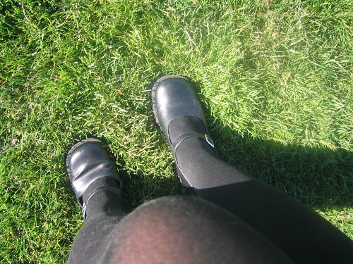 Black Stockings and Mary Janes