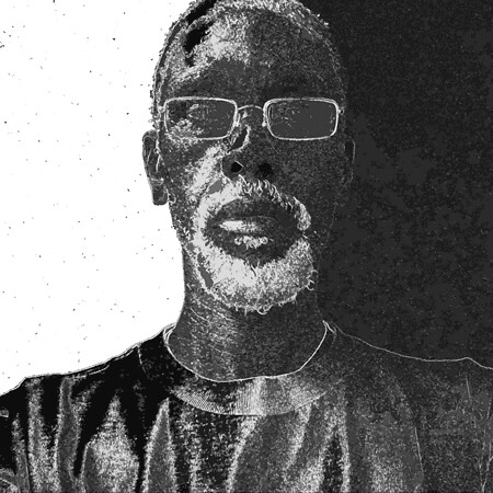 jide in black and white