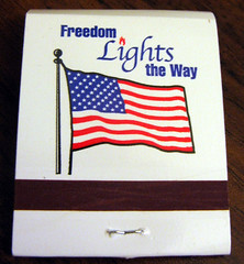 Light your Cigarettes with FREEDOM!!!!