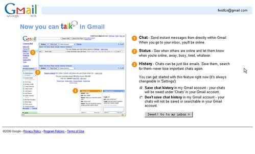 我的gmail终于也有quick contacts了