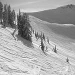 Skiing the nipple @ Targhee