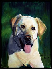 Winston - Oil Painting by STEVEN CHATEAUNEUF - Photo Also by STEVEN CHATEAUNEUF photo by snc145
