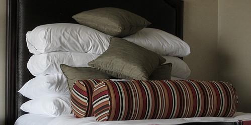 Not more pillows?