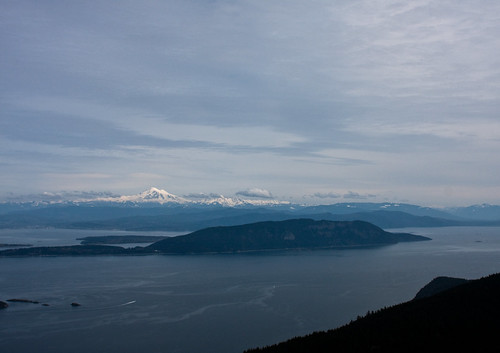 Mount Baker from Mount Constitution