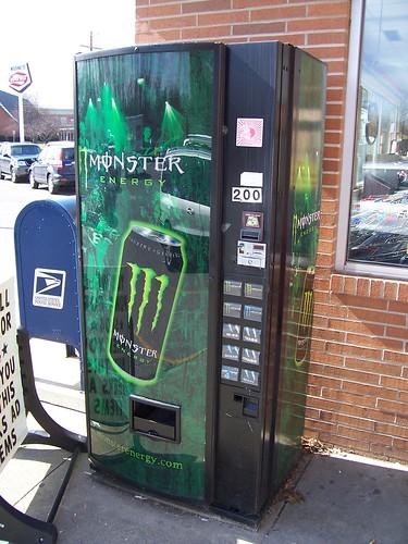 Rockstar Energy Drink Vending Machine