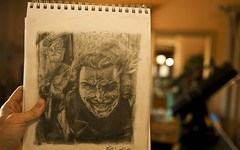 The Joker... my latest drawing photo by Stuck in Customs