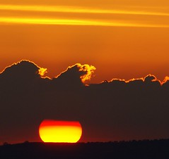 SUN through clouds photo by algo