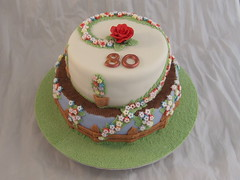 80th Birthday cake photo by Crazy Cake - Cakedesigner57