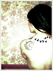 New bird tattoo photo by Shapeshifter Photography