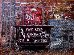 C215 - Five Star Carting (Brooklyn scene) photo by C215
