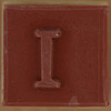 Stamp letter I