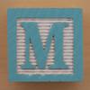 Educational Brick Letter M