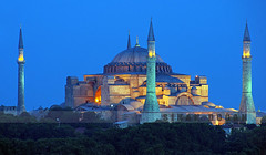 Ayasofya ışıldıyor photo by Sinan Doğan