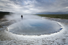 At Geysir photo by Andri Elfarsson