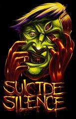 Suicide Silence Tee Design photo by Ray Frenden