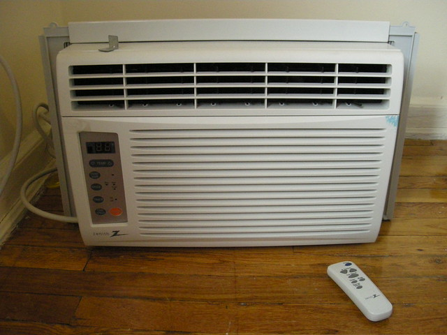 Room air conditioner Btu sizing chart matches portable air conditioners to room size.