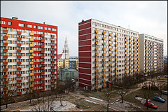 residential blocks - Bialystok Poland photo by Maciej Dakowicz