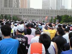 東京マラソン スタート後