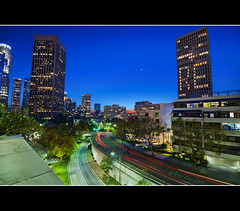Los Angeles Blue Hour photo by Ryan Eng