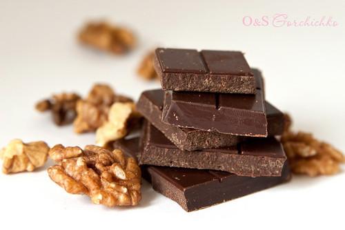 Шоколад и орехи