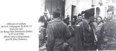 Italie- 1945- Borgo san dalmazzo BM XI - Col. Elie Chateau