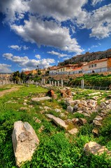 The Roman Forum in Athens photo by 5ERG10