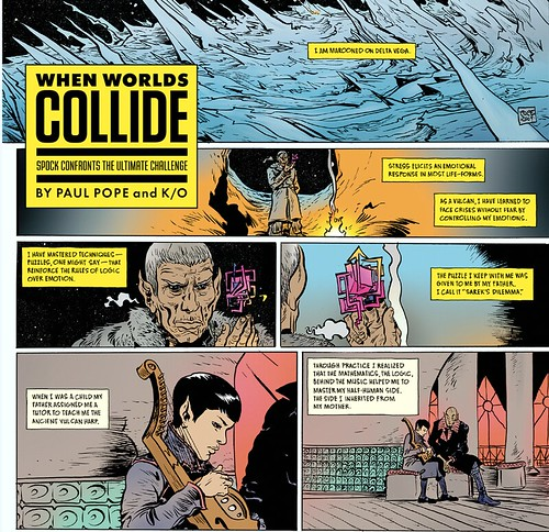 Paul Pope Spock story in Wired