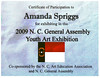 2009 youth art exhibit