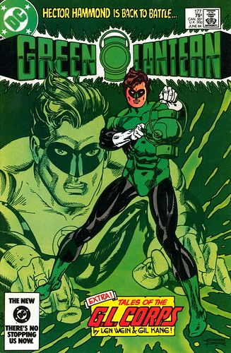Green Lantern 177 cover by Gil Kane