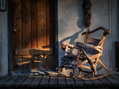 The Old Rocker (Explore March 9, 2014) photo by Anne Worner