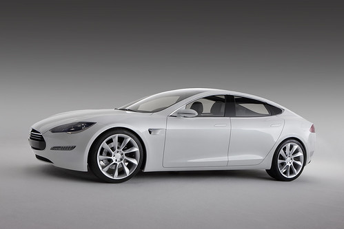 Tesla Model S Official Photo