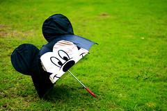 Mickey Mouse Umbrella photo by Kelvin Wong (Away)