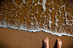 feet cannes sea awesome photo by flamed