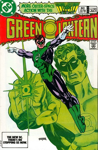 Green Lantern 166 cover by Gil Kane