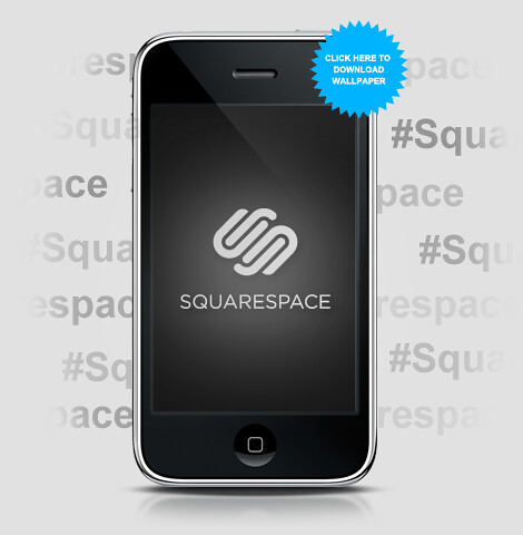 Squarespace iPhone Wallpaper