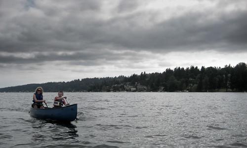 Fay & Harvey on Lake Washington