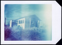 Pinhole Polaroid House photo by roostercoupon