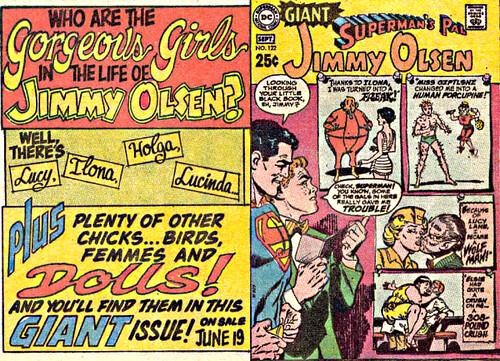 Jimmy Olsen giant promo