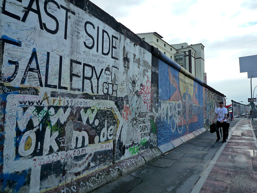 Berlin Wall at Eastside Gallery