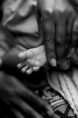 A tiny baby foot photo by Samer M