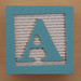 Educational Brick Letter A