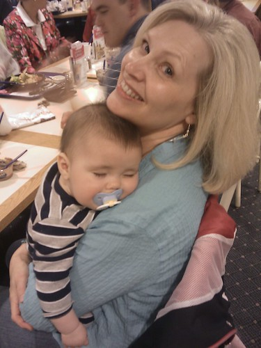 """Aunt Deb"" & Jonathan"