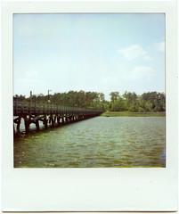Polaroid: Dock photo by analogophile