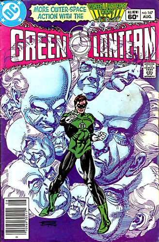 Green Lantern 167 cover by Gil Kane