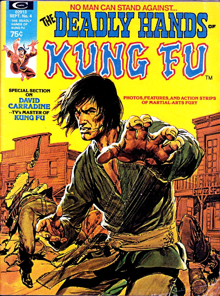 Deadly Hands of Kung Fu 4, David Carradine cover by Neal Adams